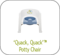 'Quack, Quack' Potty Chair